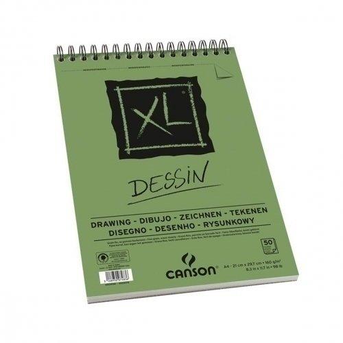 Альбом для графики XL Dessin A4, 50 л, 160 г/м2 цена