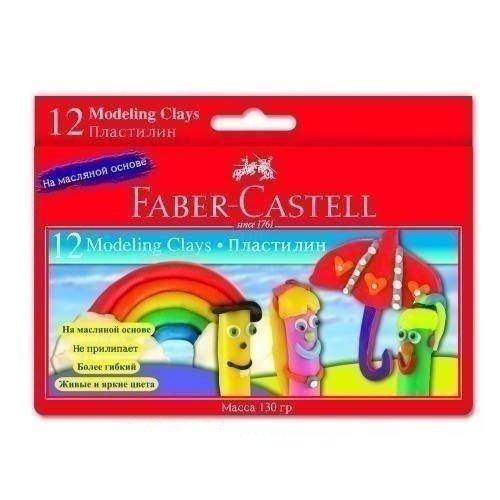 Пластилин для детского творчества 12 цветов