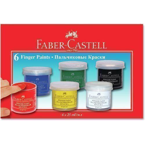 Краски для рисования пальчиками, 6 цветов цена