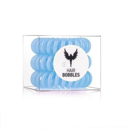 Резинка-браслет голубая