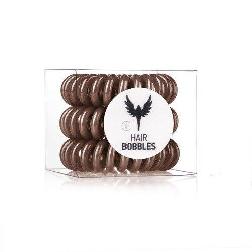 Резинка-браслет коричневая