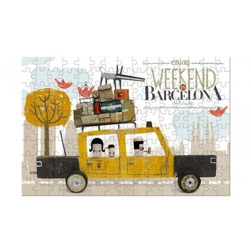 МикроПазл Taxi Barcelona, 150 элементов кресло barcelona 3