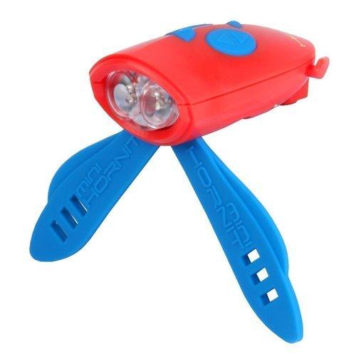 Мини-гудок для велосипеда, красно-синий органайзер для рукоделия prym мини цвет синий размер l 88 х 59 х 35 мм