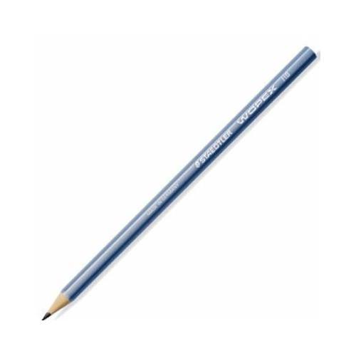 Карандаш чернографитный премиум Wopex, НВ, голубой staedtler чернографитный карандаш wopex нв 3 шт