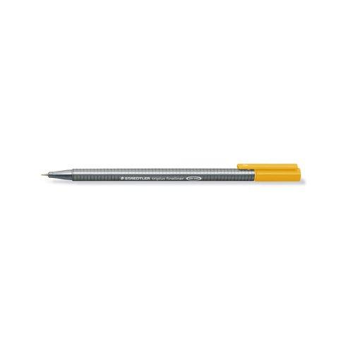"""Ручка капиллярная трехгранная """"Triplus 334"""", 0,3 мм, оранжевая цена в Москве и Питере"""