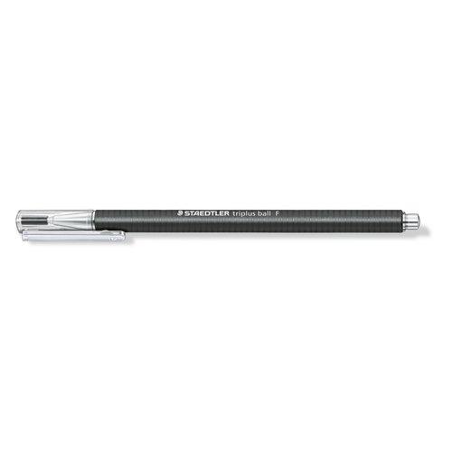 Шариковая ручка Triplus Ball черная 0,3 F шариковая ручка triplus ball черная 0 3 f
