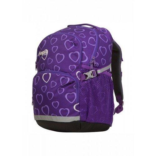 Купить Рюкзак XO Amethyst Hearts 25 фиолетовый, Bergans, Детские сумки, рюкзаки и ранцы