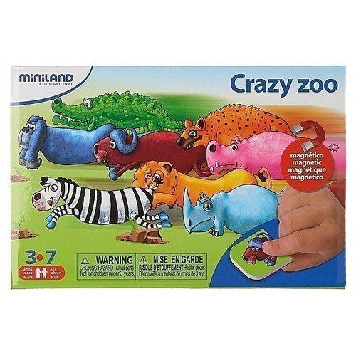 Купить Магнитная игра Зоопарк , Miniland Educational, Развлекательные и развивающие игрушки