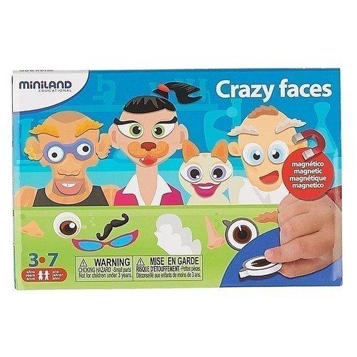 Купить Магнитная игра Портреты , Miniland Educational, Развлекательные и развивающие игрушки