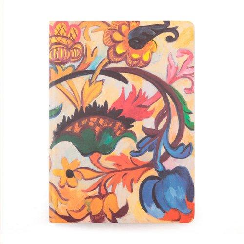 Тетрадь нелинованная Гончарова Н. С. Цветы А4 н м лунина редкие многолетние цветы