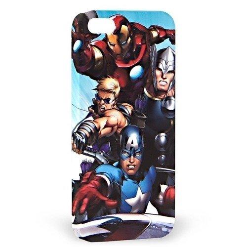 """Крышка задняя для iPhone 5 """"Герои"""" Marvel"""