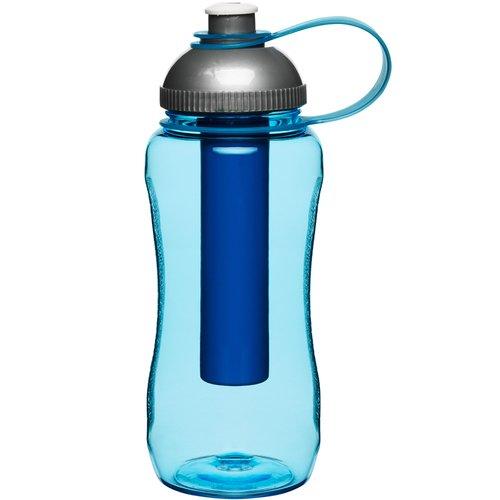 Бутылка с охлаждающим элементом, синяя