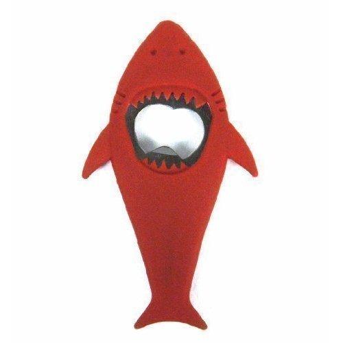 """Открывалка для бутылок """"Shark"""", красная"""