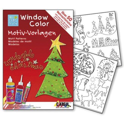 Пленка для росписи по стеклу Прекрасное Рождество пленка