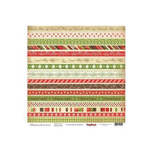 Бумага для скрапбукинга Ночь перед Рождеством. Рождественская сказка бумага для скрапбукинга двусторонняя basic grey capri