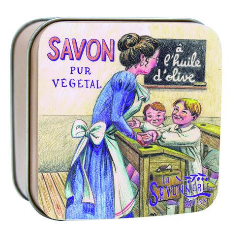 Мыло в коробке Школа сверхпитательное мыло cold creme 100 гр