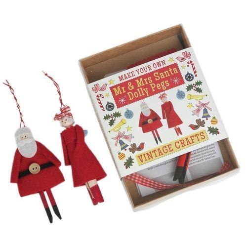 Набор для творчества Make Your Own Mr. Santa