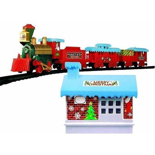 Железная дорога Christmas Train железная дорога kidkraft игровой набор жд станция waterfall station train set