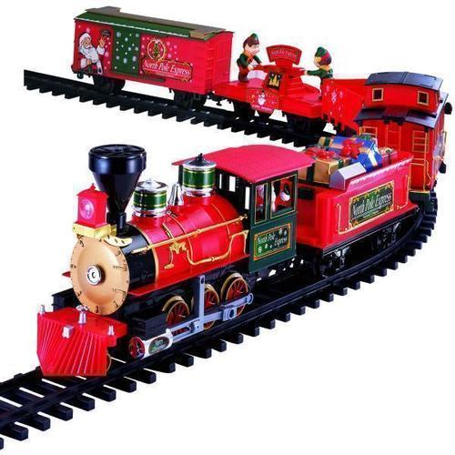 Железная дорога North Pole Express Train Set, 22 части цена