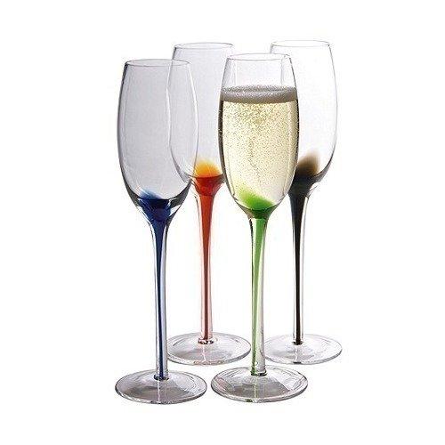 Набор бокалов для шампанского Splash, 4 шт. circelee цвет шампанского 4
