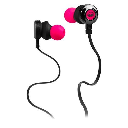 Наушники с микрофоном Clarity HD Neon Pink In-Ear Headphones цена