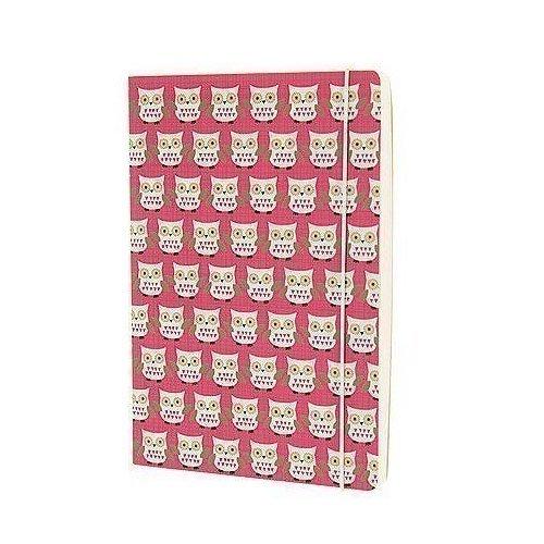 """Блокнот """"Owls"""" А5 розовый owls 1997 calendar"""