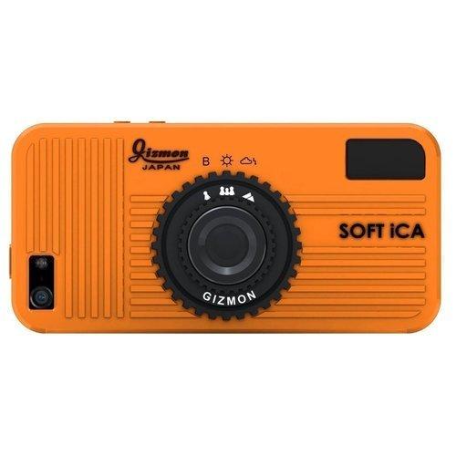Чехол Soft iCA для iPhone 5/5S оранжевый чехол soft ica для iphone 5 5s розовый