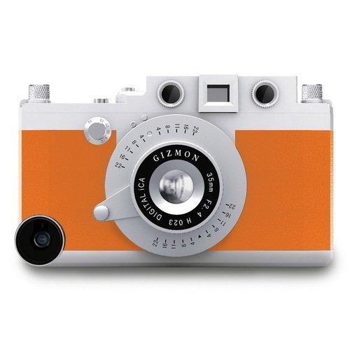 Кейс iCA5 для iPhone 5/5S оранжевый kenko gizmon ica5 079591