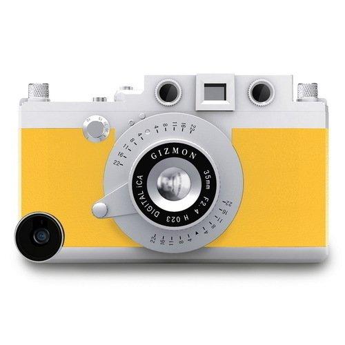Кейс iCA5 для iPhone 5/5S желтый kenko gizmon ica5 079591