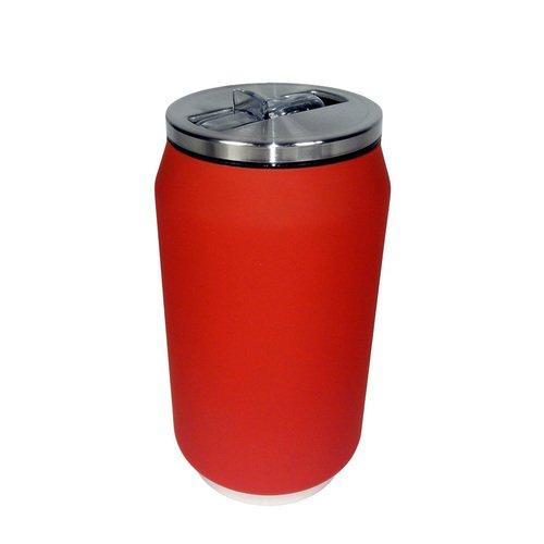 Термобанка Soft Touch, 280 мл, красная термобанка soft touch 280 мл розовая
