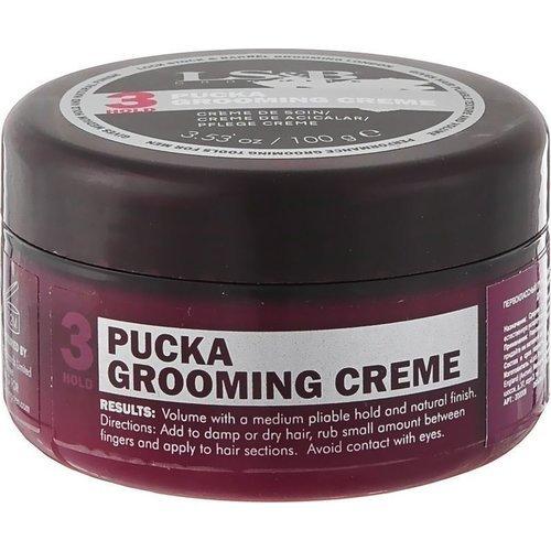 """Первоклассный груминг-крем для создания гибкой текстуры и объема """"Pucka Grooming Creme&"""