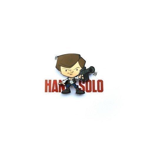Пробивной мини 3D-светильник StarWars Han Solo 3d светильник starwars