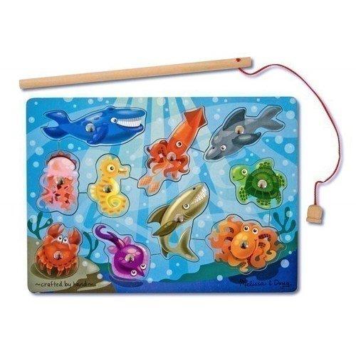 Купить Магнитная игра Рыбалка , Melissa & Doug, Развлекательные и развивающие игрушки