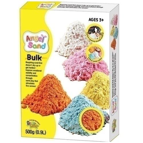 Набор песка для игры и творчества Angel Sand, оранжевый песок angel sand игровой набор песка 5 цветов 5 color pack