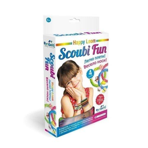 "Набор для плетения браслетов ""Happy Loom. Scoubi Fun"""