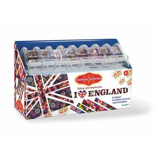 Набор для творчества Я люблю Англию фольга для маникюра фикс прайс