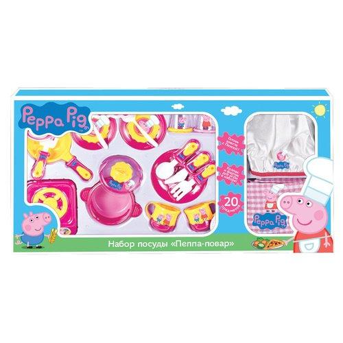 Купить Набор посуды Пеппа-повар , Peppa Pig, Игровые наборы