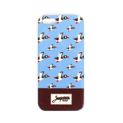 """Чехол """"Дичь 86"""" для iPhone 6+ синий все цены"""