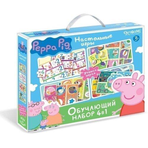 Купить Обучающий набор 4 в 1 Азбука. Считалочка. Времена года. Прятки , Peppa Pig, Игры для детей