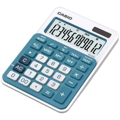 Калькулятор MS-20NC-BU голубой