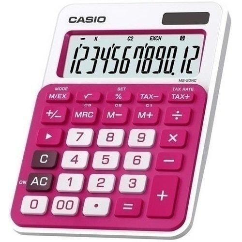 Калькулятор MS-20NCRD красный