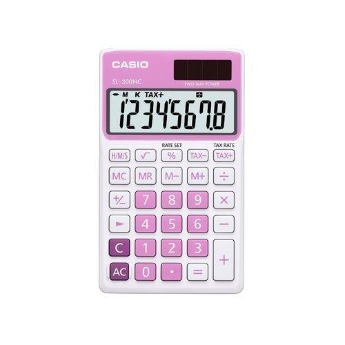 Калькулятор настольный SL-300NC-PK-S-EH розовый настольный светильник risalux мечта e27 3218469 розовый 28 х 28 х 44 см