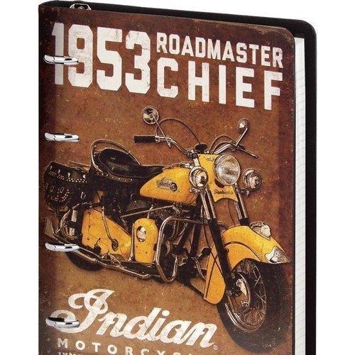 Тетрадь Indian с кольцевым механизмом А5