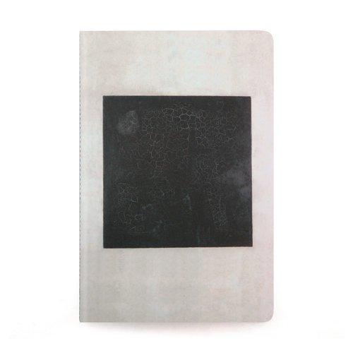 Фото - Тетрадь Малевич К. С. Черный квадрат А6, в точку тетрадь малевич к с женщина с граблями а6 в точку