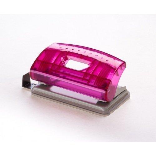 "Дырокол ""Mini Transparent"" розовый"