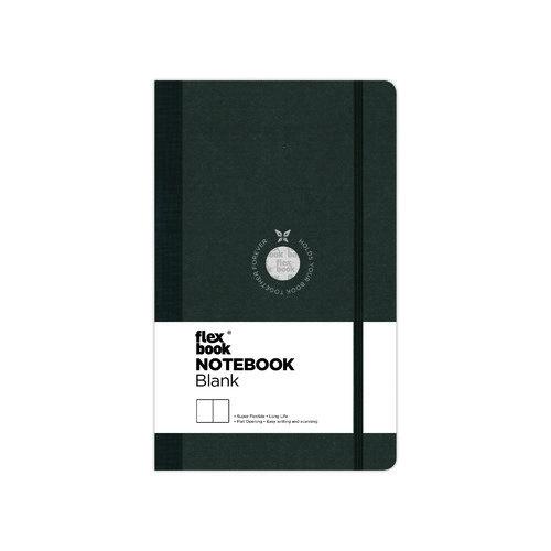 Блокнот нелинованный Flexbook, черный истории из детства моей дочки блокнот для самых интересных случаев 192 страницы