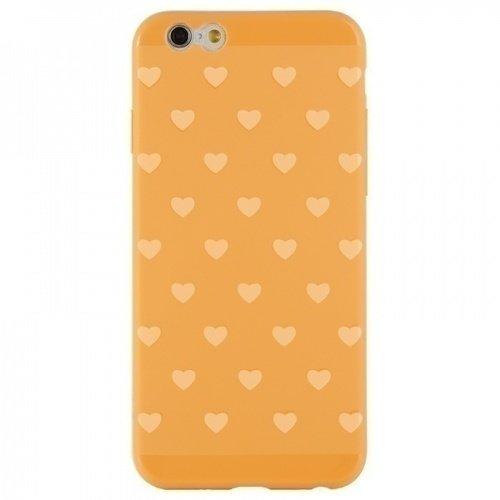 """Чехол накладка для iPhone 6/6S """"Tasty"""", оранжевый стоимость"""