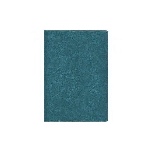 Книга для записей Серо-голубая А6, в клетку adamex avila лен серо голубая