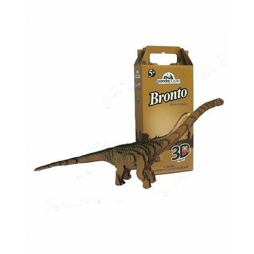 Пазл 3D Бронтозавр, 33 элемента раскраска crayola color wonder тачки 12787