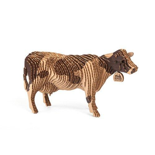 Купить Пазл 3D Корова , 58 элементов, Panda Puzzle, Пазлы
